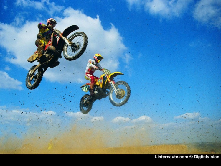 Fonds d'écran Motos Motocross Wallpaper N°53861