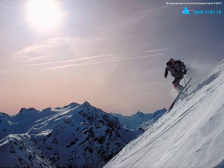 Fonds d'écran Sports - Loisirs Ski Wallpaper N°53941