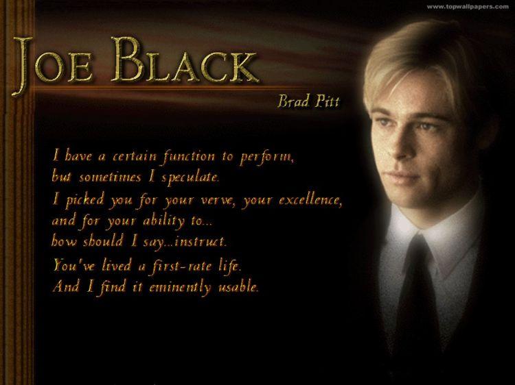 Rencontre avec joe black 720p