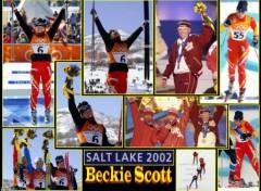 Fonds d'écran Sports - Loisirs Beckie Scott