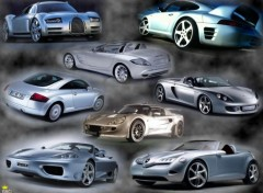 Fonds d'écran Voitures Sports Cars montage 2