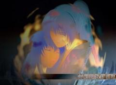 Fonds d'écran Manga Douleur