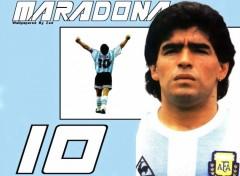 Fonds d'écran Sports - Loisirs Maradona