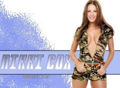 Fonds d'écran Célébrités Femme Nikki Camouflage