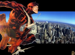 Fonds d'écran Comics et BDs Daredevil - The man without fear