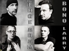 Wallpapers Music U2 - 4 in 1