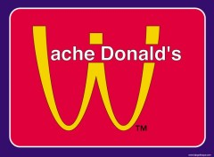 Wallpapers Humor MAc-Vache Donald