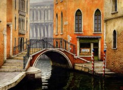 Wallpapers Art - Painting venise 6