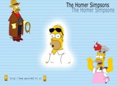 Fonds d'écran Dessins Animés The Homer Simpsons