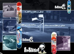 Fonds d'écran Sports - Loisirs Blind SkateBoard