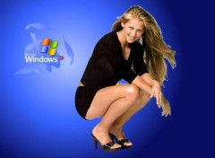 Fonds d'écran Informatique XP vu par Anna