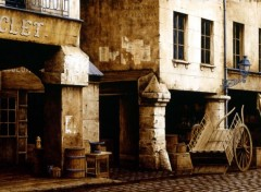 Wallpapers Art - Painting rue de la tonnellerie