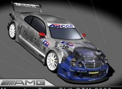 Fonds d'écran Voitures Mercedes-Benz CLK-DTM 2000