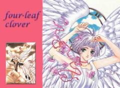 Fonds d'écran Manga four-leaf clover
