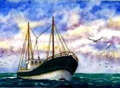 Fonds d'écran Art - Peinture Langoustier