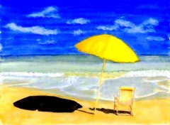 Fonds d'écran Art - Peinture Parasol