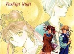 Fonds d'écran Manga Miaka et Yui