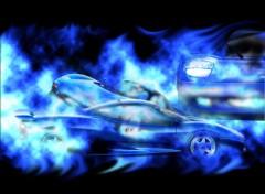 Fonds d'écran Voitures Blue Car