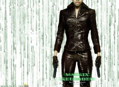 Fonds d'écran Cinéma The Matrix Reloaded - Niobe