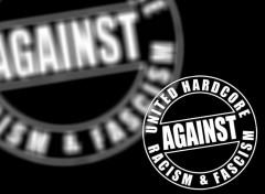Fonds d'écran Musique Hardcore against racism