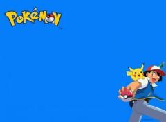 Fonds d'écran Manga Ash & Pikachu
