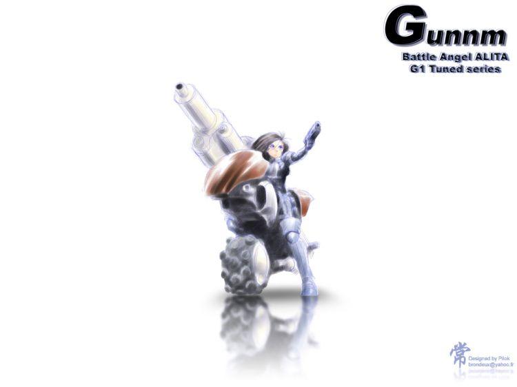 Fonds d'écran Manga Gunnm Gally Tuned series