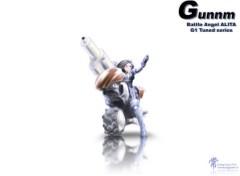 Fonds d'écran Manga Gally Tuned series