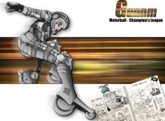 Fonds d'écran Manga Gunnm Motorball