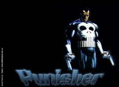 Fonds d'écran Comics et BDs Ruthay Punisher 01
