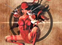 Wallpapers Comics La mysterieuse Elektra