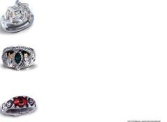 Fonds d'écran Art - Numérique Sorgal - Trois bijoux