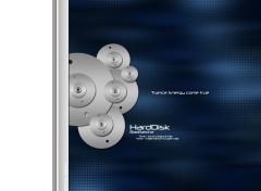 Fonds d'écran Musique HardDisk Dark Blue