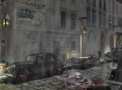 Fonds d'écran Art - Numérique Soir de pluie2