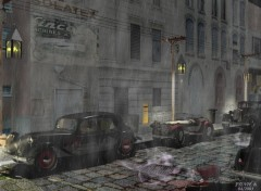 Wallpapers Digital Art Soir de pluie2