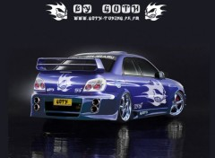 Wallpapers Cars SUBARU IMPREZA BY GOTH
