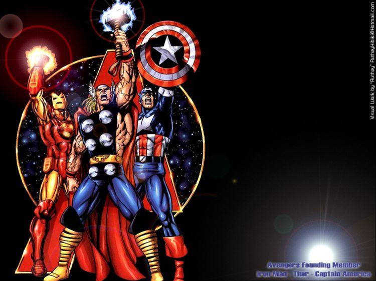 Fonds d 39 cran comics et bds fonds d 39 cran avengers - Telecharger avengers ...