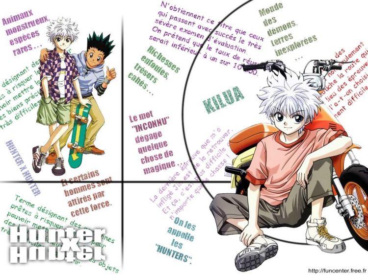 Fonds d'écran Manga Hunter x Hunter Hunter X Hunter - Kirua