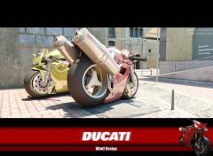 Fonds d'écran Motos Ducati BRuTE Design