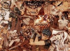 Fonds d'écran Manga Berserk - Volume 4