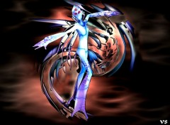Fonds d'écran Art - Numérique ange ou demon ??