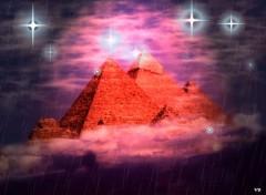 Fonds d'écran Art - Numérique pyramide