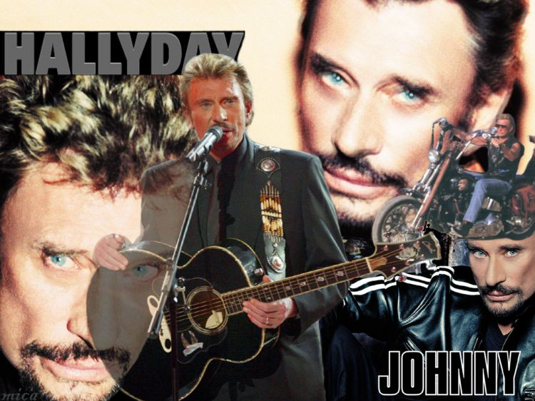 Fonds d'écran Musique Johnny Hallyday Johnny's kompil