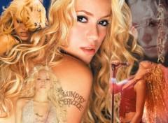 Fonds d'écran Musique Shakira's kompil