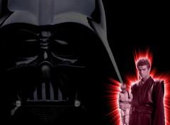 Fonds d'écran Cinéma Anakin et le côté obscur de la Force