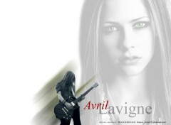 Wallpapers Music Avril Eyes