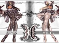 Fonds d'écran Manga Black and white