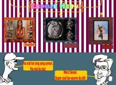 Fonds d'écran Humour ayreon & seven