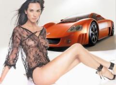 Fonds d'écran Erotic Art Volkswagen