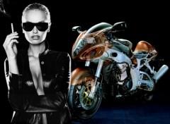 Fonds d'écran Motos Suzuki