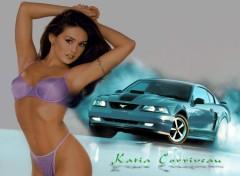 Fonds d'écran Erotic Art Mustang